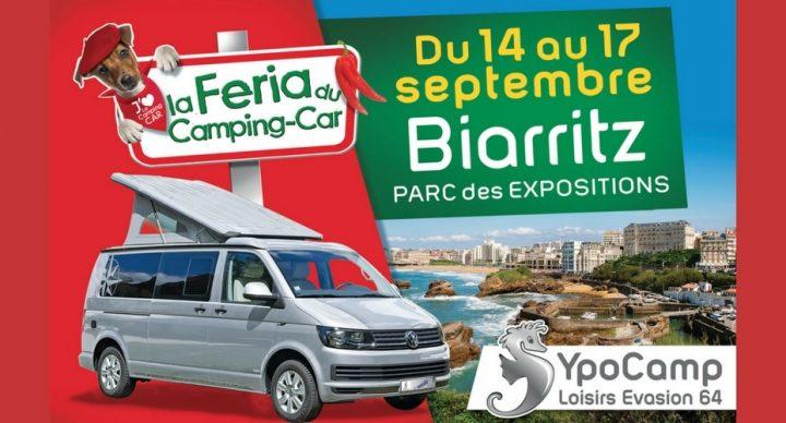 feria du camping-car de biarritz septembre 2017