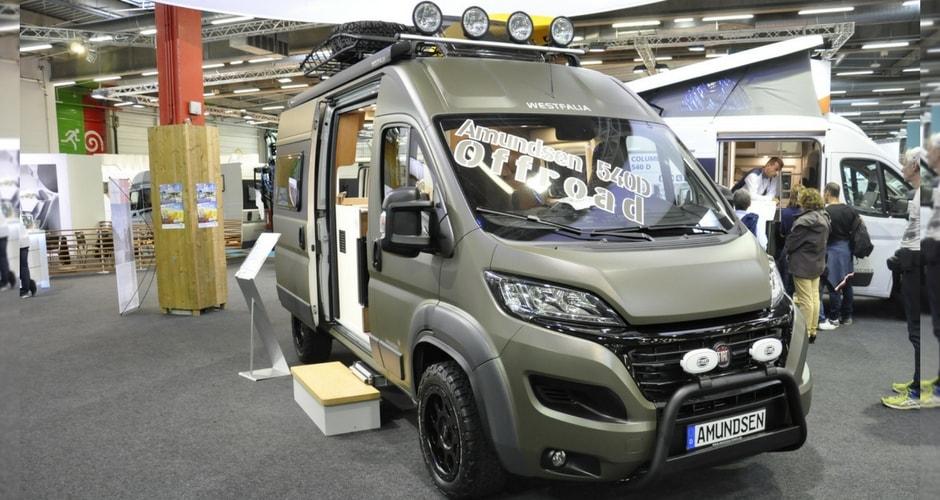 Camping-car 2018 salon du Bourget 2017