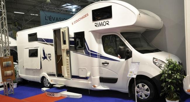 Camping-car capucine rimor 2018