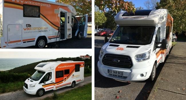 Camping-car WIKICAMPERS-Salon des Véhicules de Loisirs 2018