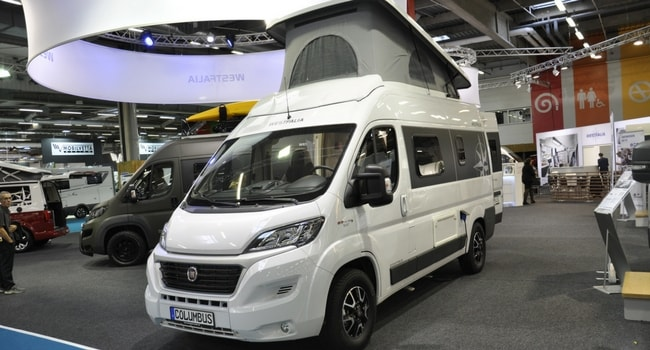 Fourgon Westfalia Columbus 540D