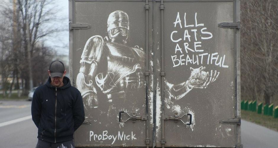 NIKITA GOLUBEV : il transforme la poussière en œuvres d'art !