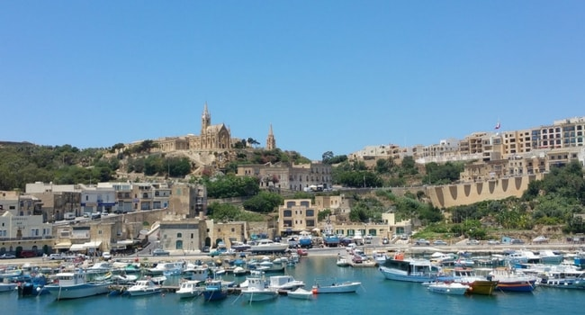 Port de Gozo_Malte en camping-car
