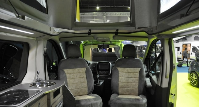 Renault Trafic amenage glenan concept car