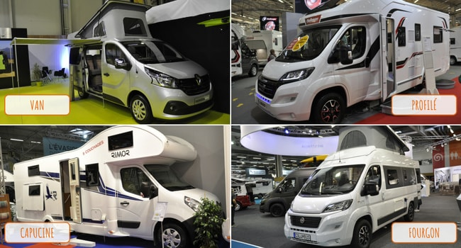 Salon des Véhicules de Loisirs 2018_Types Camping-cars