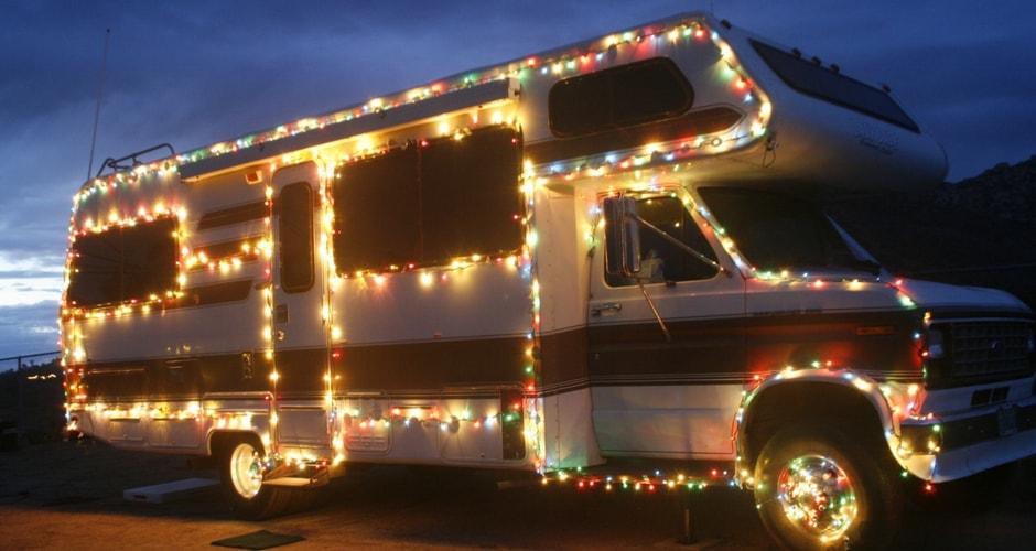 Décorer son camping-car pour les fêtes