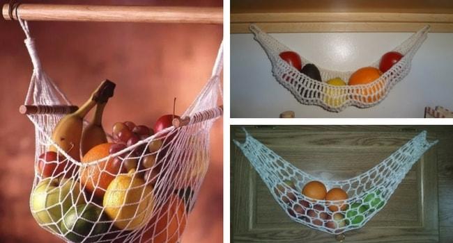 Hamac pour fruits et légumes