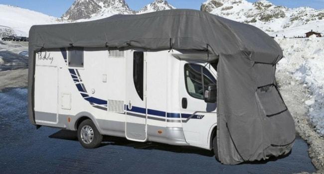 Housse de protection pour camping-car