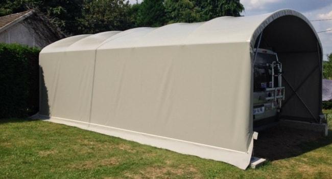 abri camping-car bache