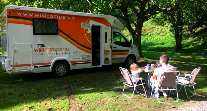 camping-car en famille