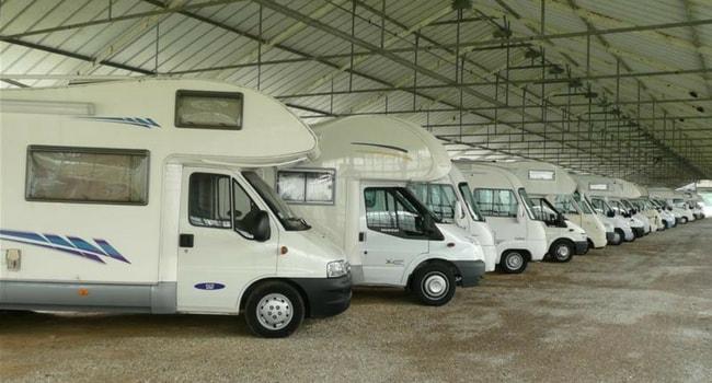 gardiennage camping-car