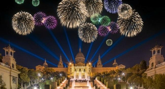 Tour d'Europe des célébrations du Nouvel An_Barcelone