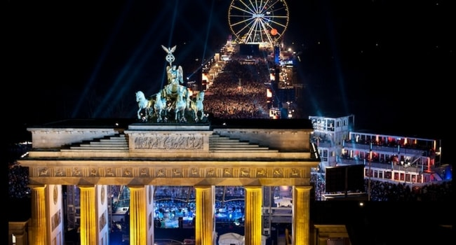 Tour d'Europe des célébrations du Nouvel An_Berlin