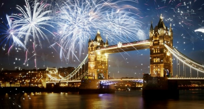 Tour d'Europe des célébrations du Nouvel An_Londres