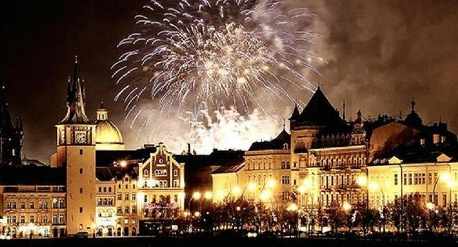 Tour d'Europe des célébrations du Nouvel An_Prague
