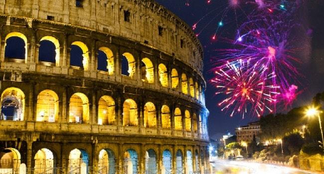 Tour d'Europe des célébrations du Nouvel An_Rome