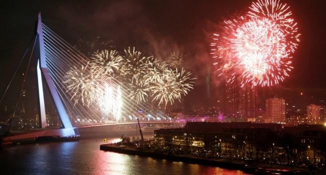 Tour d'Europe des célébrations du Nouvel An_Rotterdam