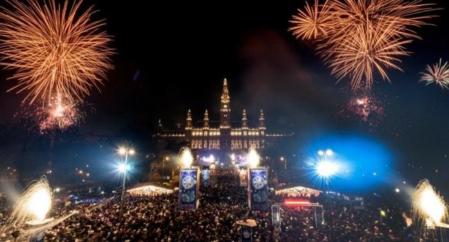 Tour d'Europe des célébrations du Nouvel An_Vienne