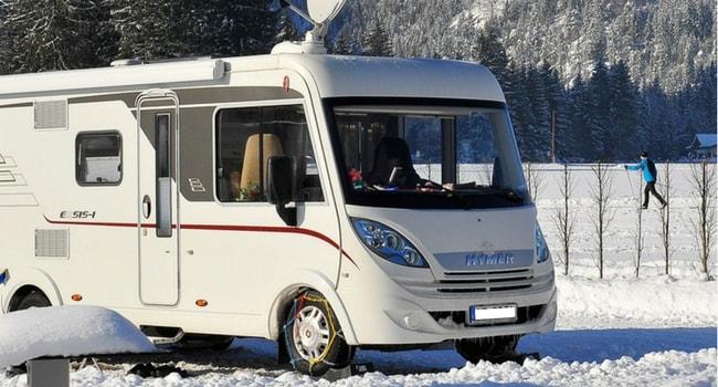 camping-car hiver