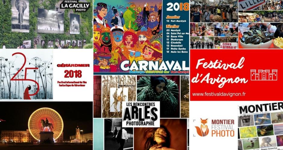 Évènements culturels à faire en camping-car en 2018