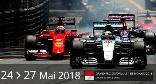 Les évènements sportifs à faire en camping-car en 2018_Grand Prix Monaco