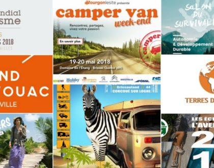 Les évènements voyage à faire en camping-car en 2018-UNE