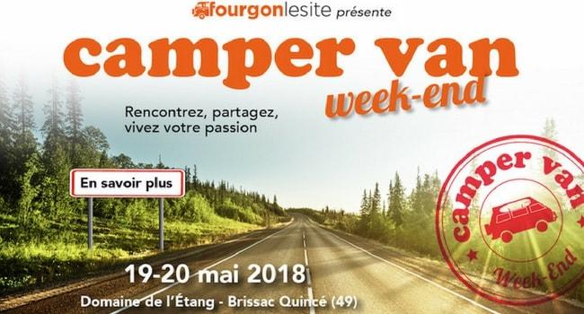 Les évènements voyage à faire en camping-car en 2018_Camper Van Week-End