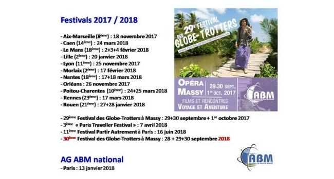 Les évènements voyage à faire en camping-car en 2018_Festival des Globe-Trotters