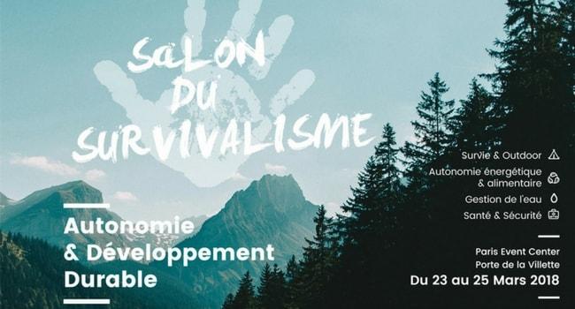Les évènements voyage à faire en camping-car en 2018_Salon du Survivalisme