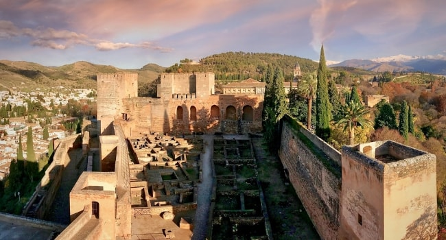 Partir en février en camping-car_Andalousie-Alhambra-Grenade