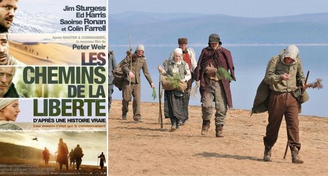 les chemins de la liberte film voyage