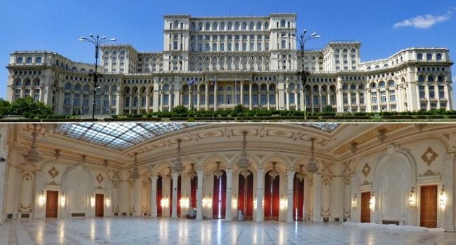 En route vers la Roumanie en camping-car_Bucarest-Palais du Parlement