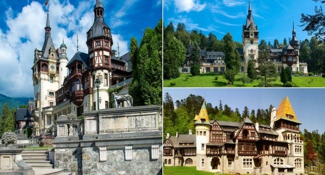 En route vers la Roumanie en camping-car_Châteaux de Pelesh & Pelisor