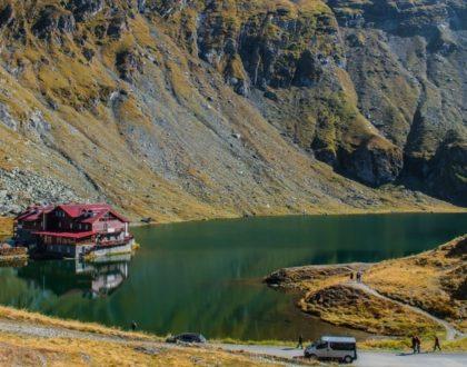 En route vers la Roumanie en camping-car Le Lac Balea