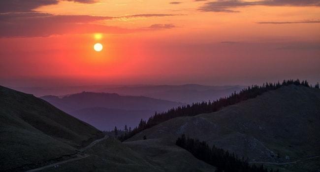 En route vers la Roumanie en camping-car_Les Carpates