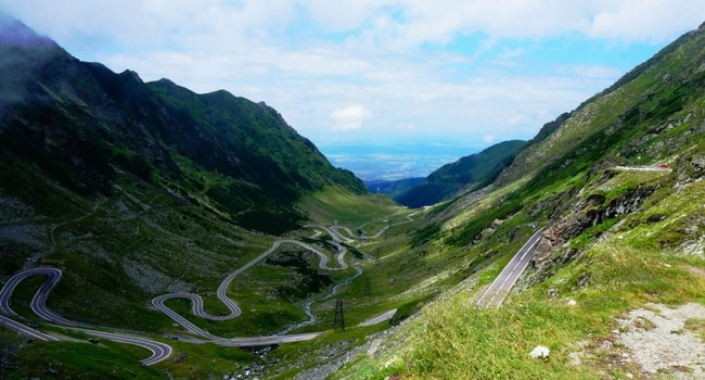En route vers la Roumanie en camping-car_Route Transfagarasan