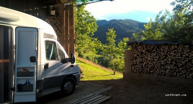 Emplacement camping-car slovenie
