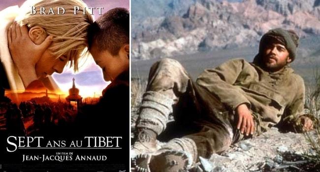 meilleurs films voyage et roadtrip - sept ans au tibet