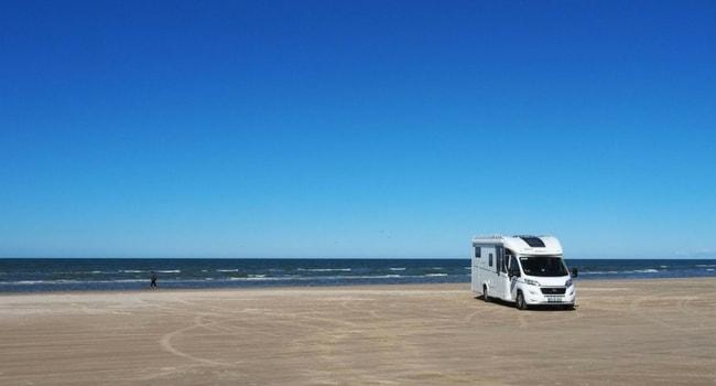 camping-car Porsevej Dannemark