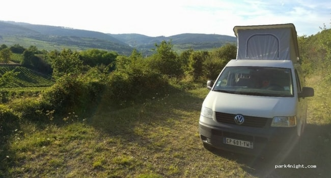 emplacement camping-car bourgogne