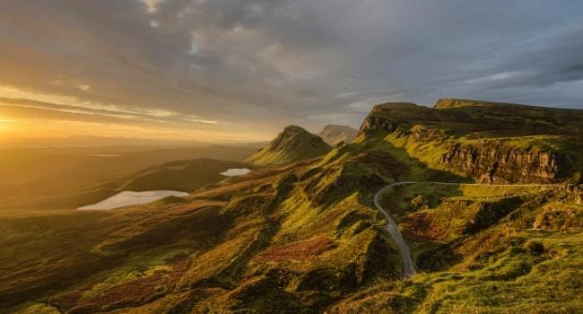 En route vers l'Écosse en camping-car