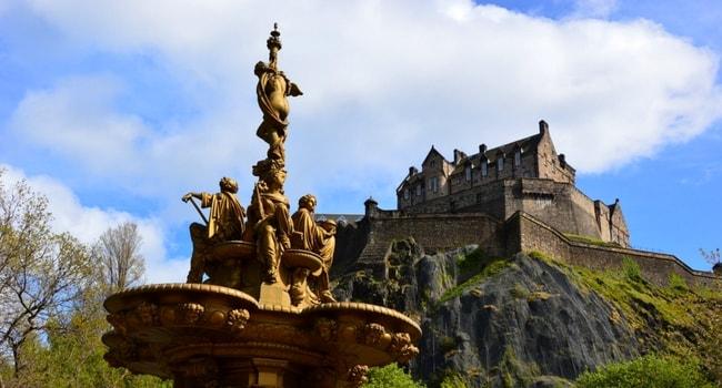 En route vers l'Écosse en camping-car_Edimbourg