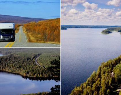 En route vers la Finlande en camping-car