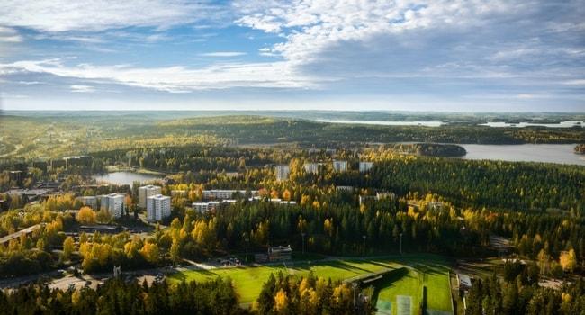 En route vers la Finlande en camping-car_Kuopio