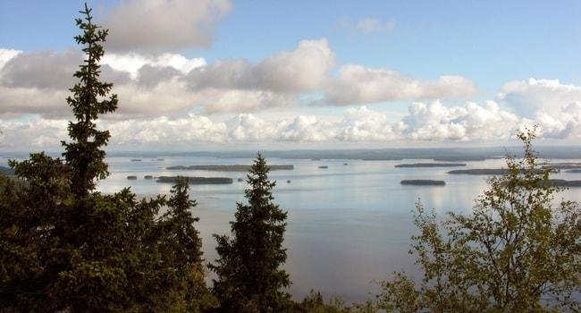 En route vers la Finlande en camping-car_Lac Pielinen