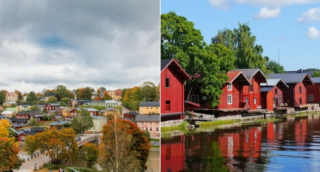 En route vers la Finlande en camping-car_Porvoo