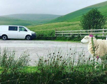 En route vers le Pays de Galles en camping-car