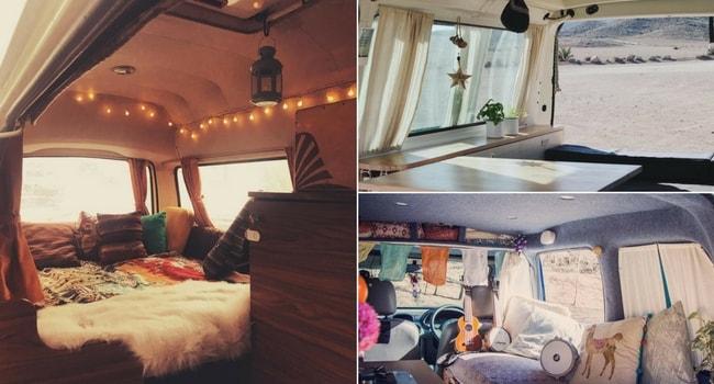 ides de dcoration intrieure pour votre camping car_ambiance