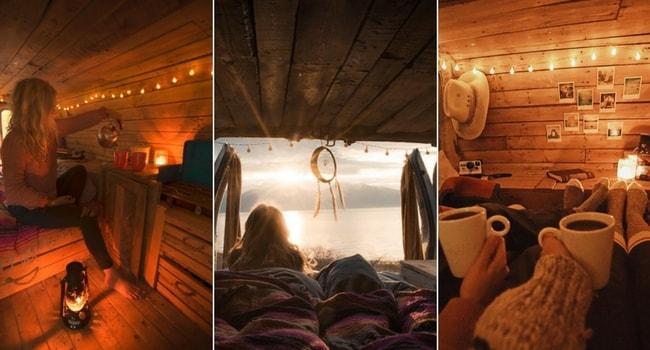 Idées de décoration intérieure pour votre camping-car_Chalet