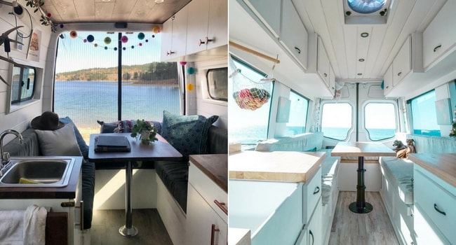 Idées de décoration intérieure pour votre camping-car_Moderne